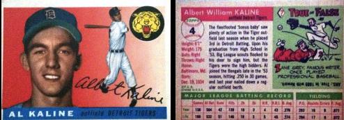 Al Kaline 1955 Topps #4