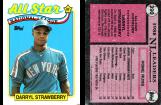 Darryl Strawberry 1989 - Topps #390