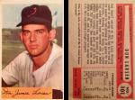 Don Larsen 1954 Bowman #101