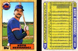 Keith Hernandez 1987 Topps #350